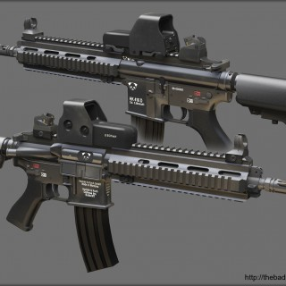 Hk416 pictures