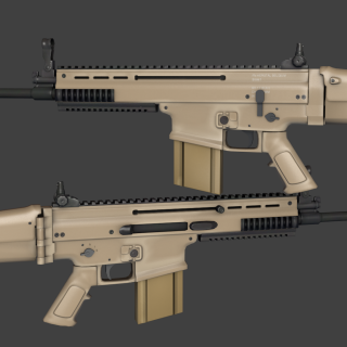 Fn Scar download wallpapers