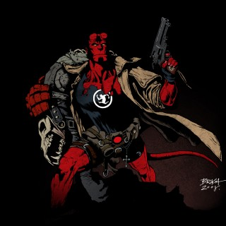 Hellboy background
