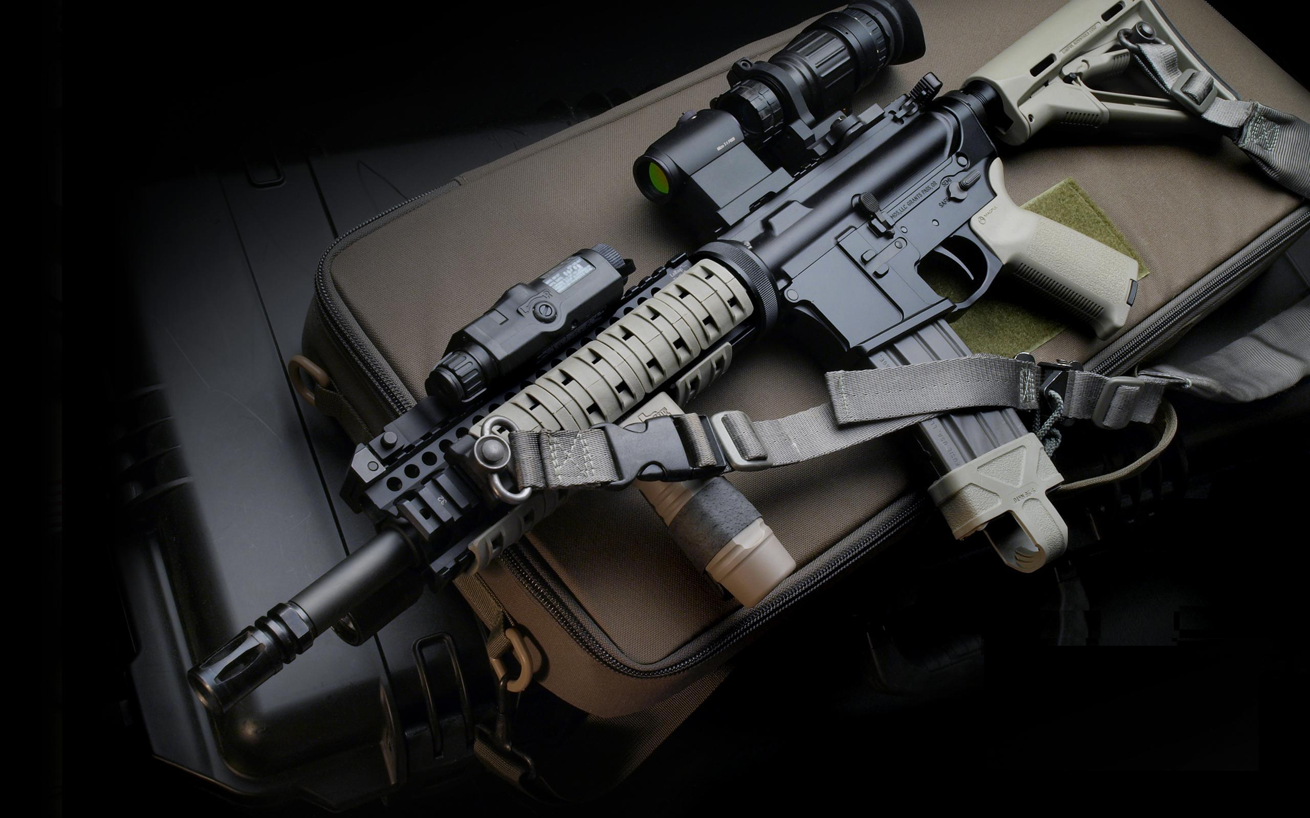 m16 gun wallpaper desktop - photo #13