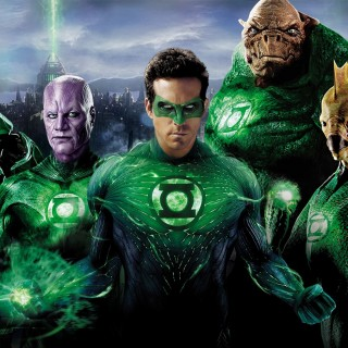 Green Lantern widescreen