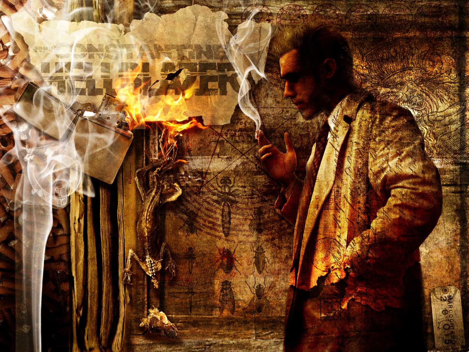 john constantine hd wallpapers for desktop download