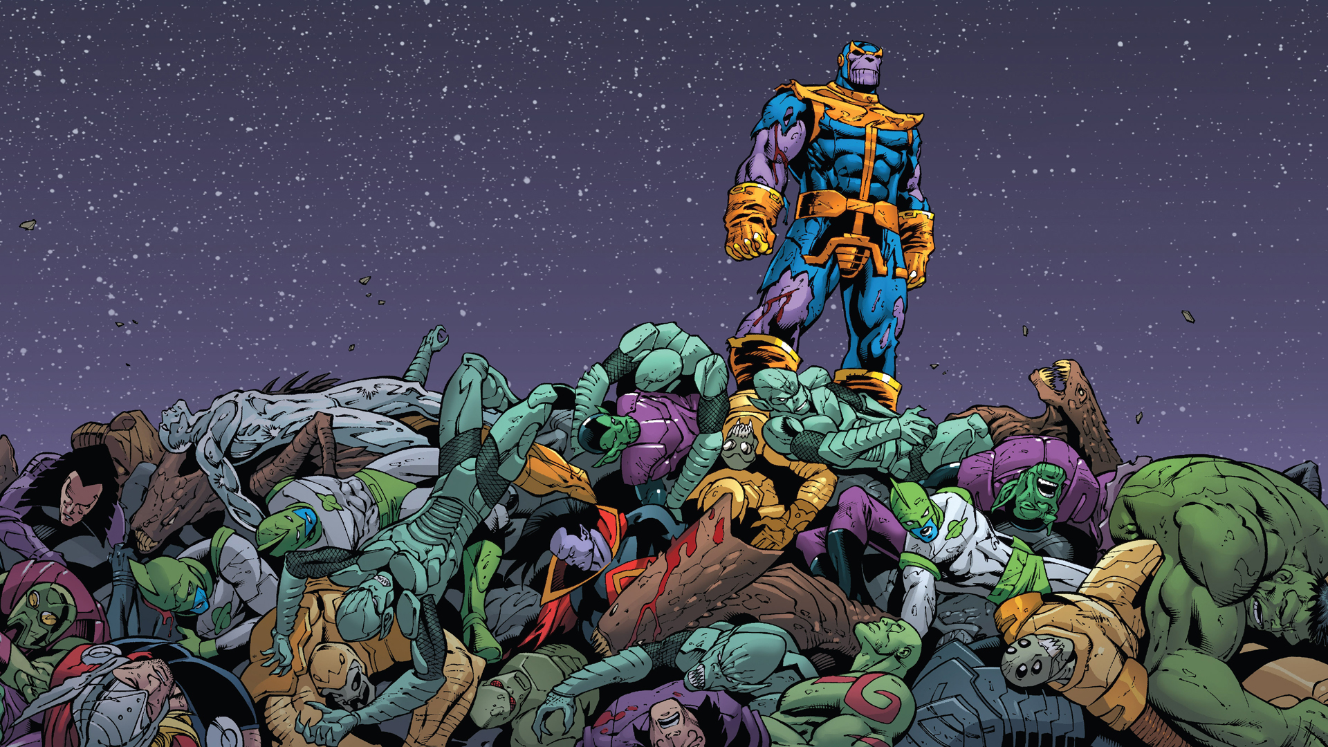 Thanos Hd Wallpapers For Desktop Download