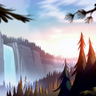 Gravity Falls high resolution wallpapers