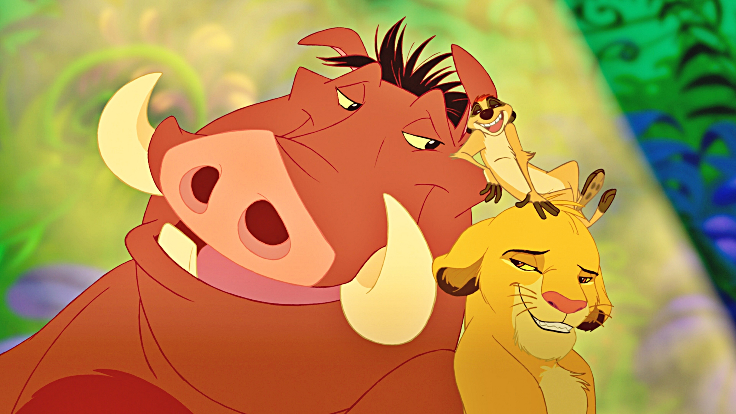 lion king characters timon and pumbaa