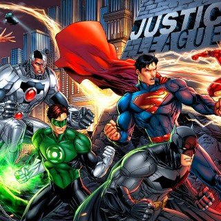 Justice League wallpapers widescreen
