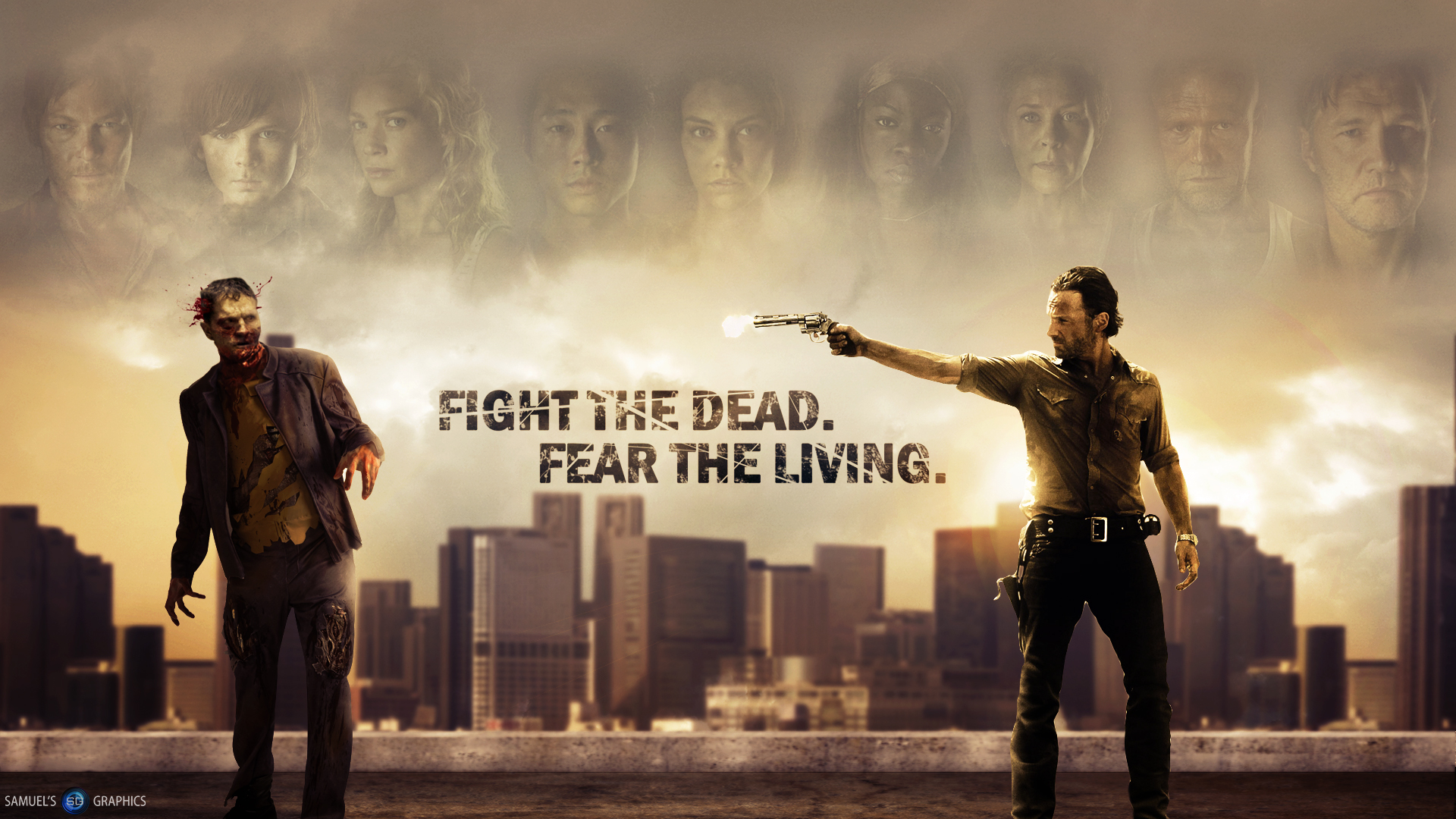 The Walking Dead HD Wallpapers for desktop download ZS25S9SZ