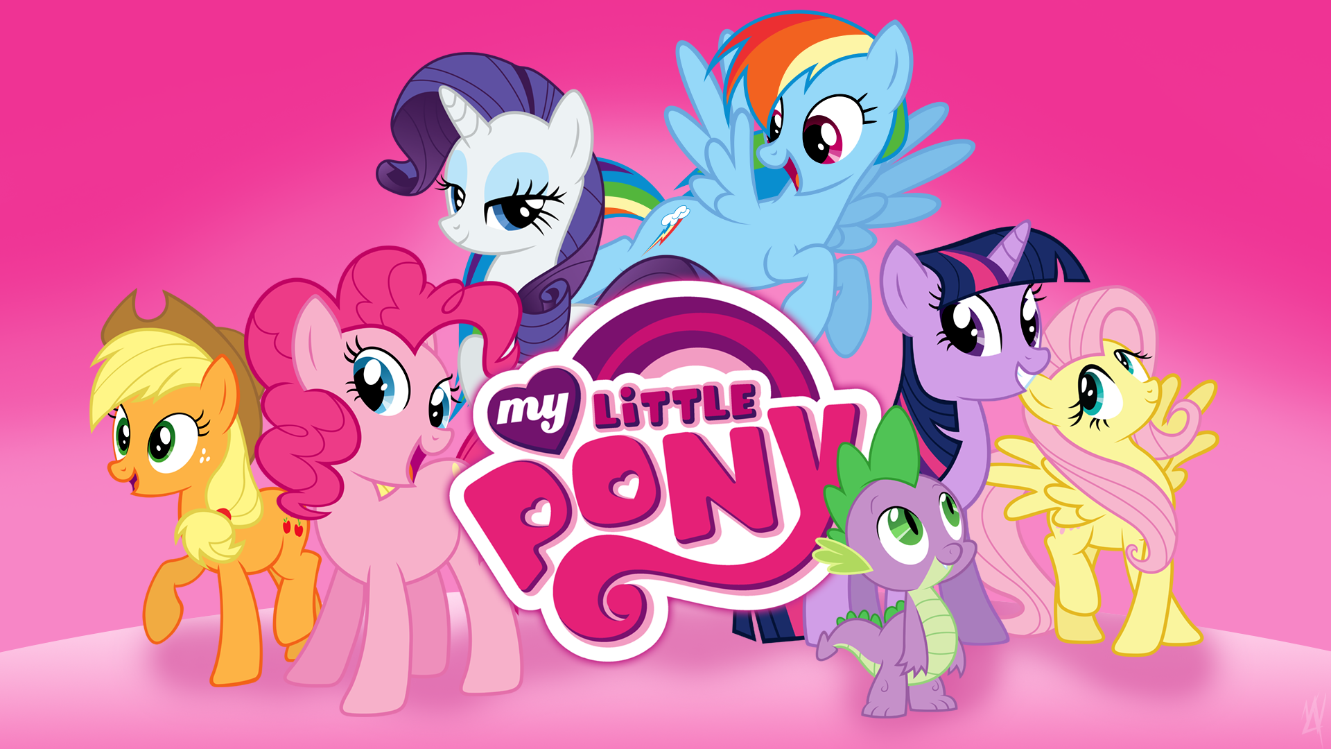 My Little Pony Wall Paper: My Little Pony HD Wallpapers For Desktop Download