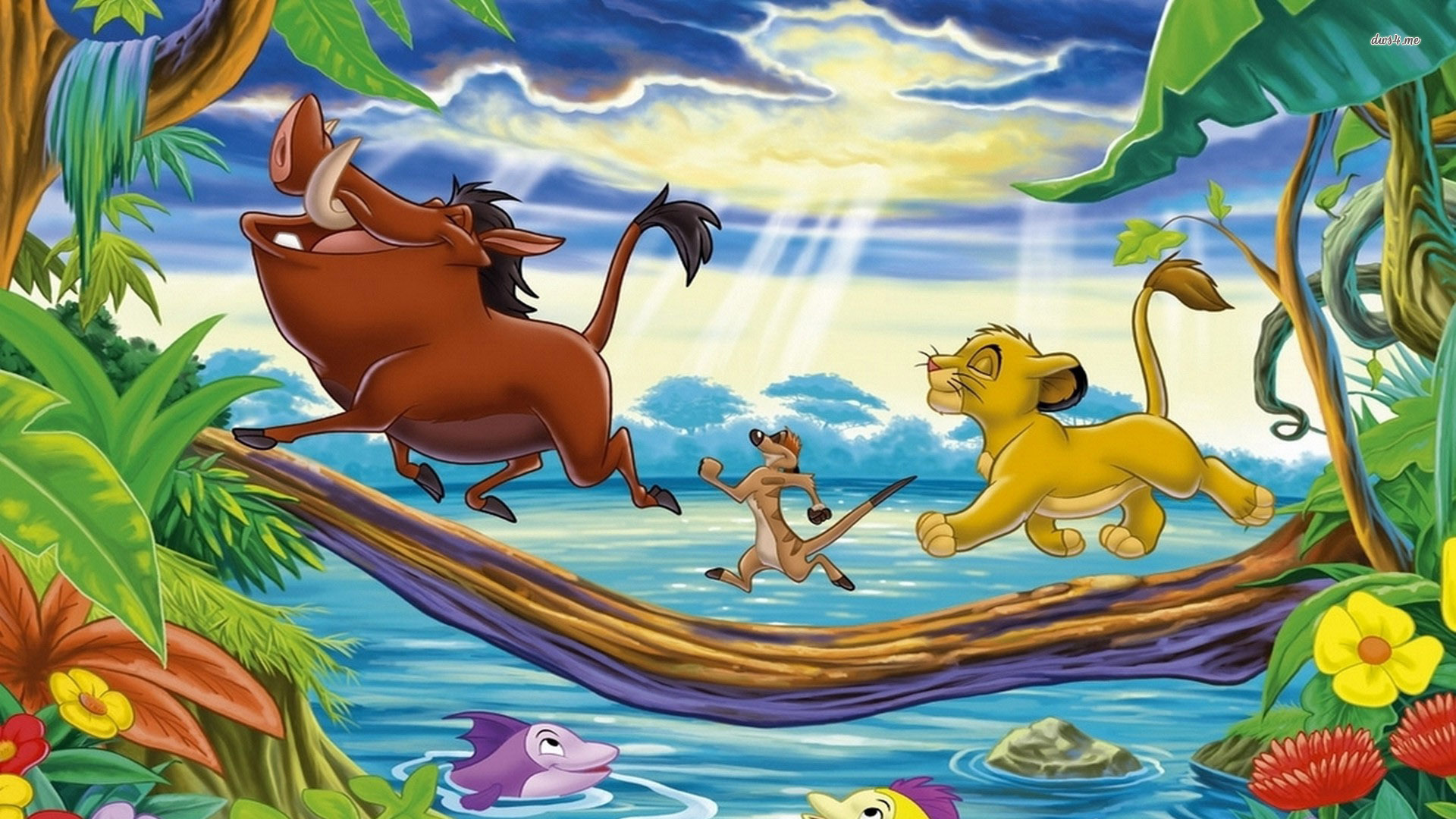 Timon and pumbaa hd wallpapers for desktop download.