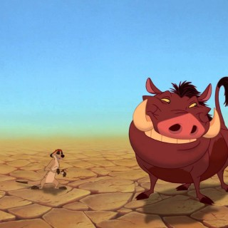 Timon And Pumbaa background