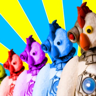 Robot Chicken background