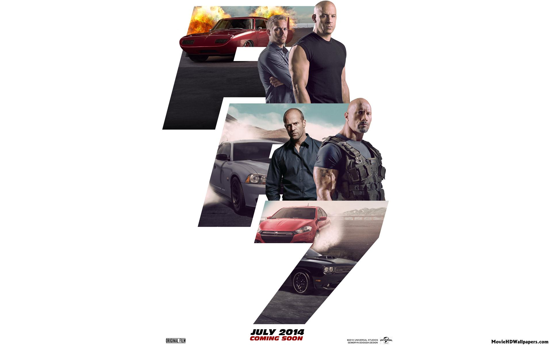Fast And The Furious 7 Wallpapers: Furious 7 HD Wallpapers For Desktop Download