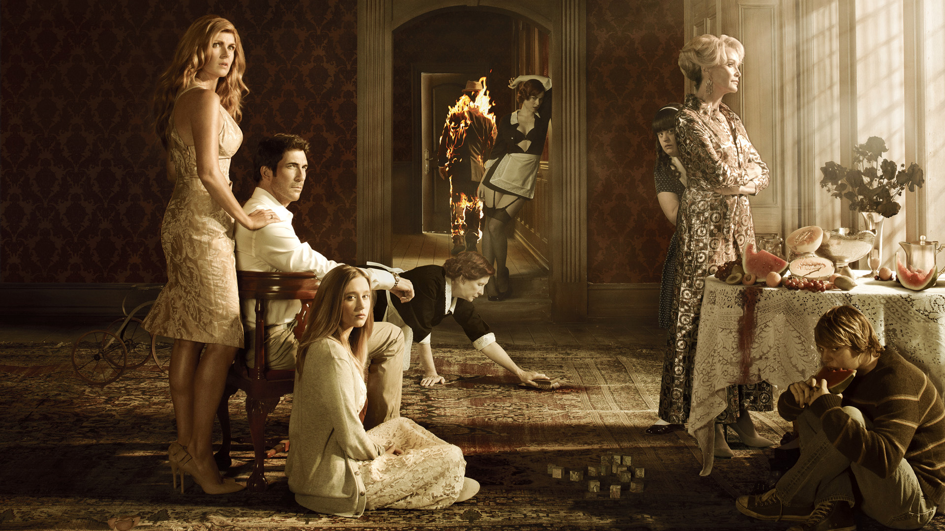 American horror story hd wallpapers for desktop download - The last story hd ...