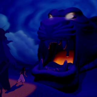 Aladdin background