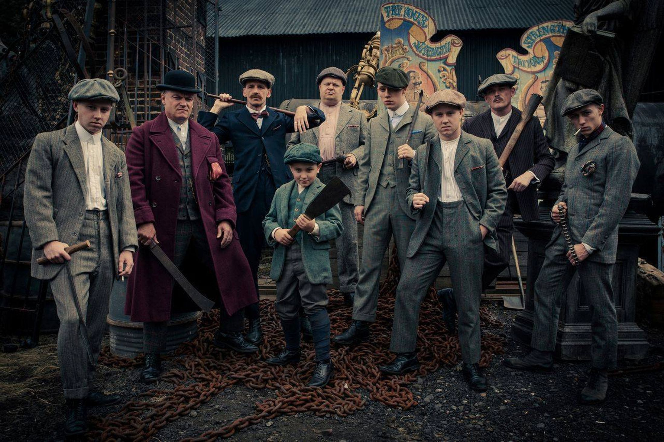 Peaky Blinders HD Wallpapers for desktop download - 1920S Mens Hairstyles