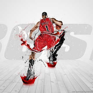 Derrick Rose high resolution wallpapers