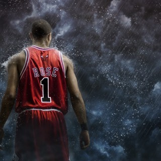 Derrick Rose widescreen
