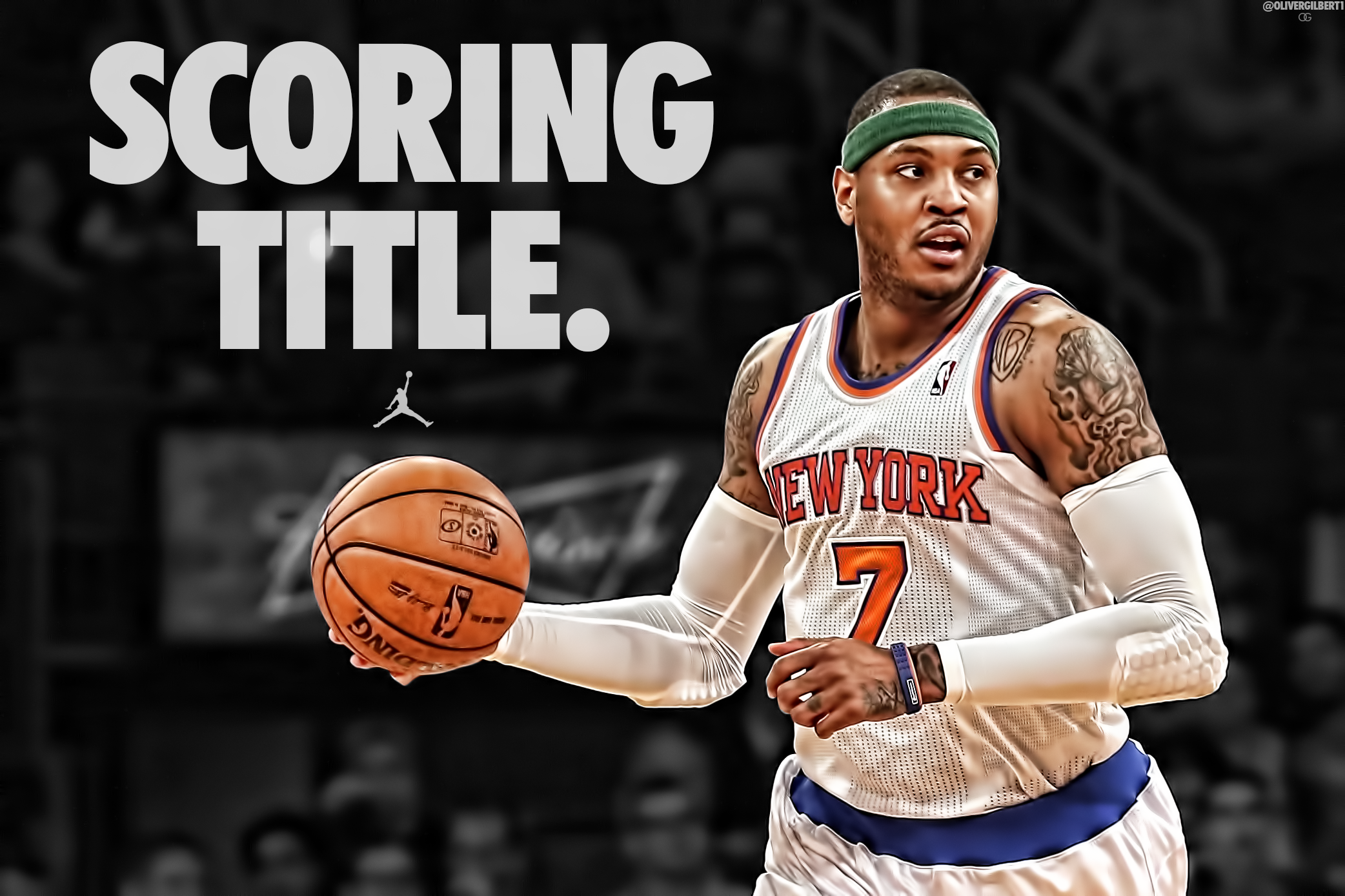 Carmelo Anthony HD Wallpapers For Desktop Download