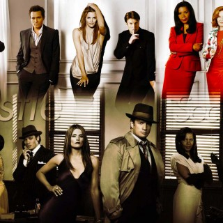Castle Tv Series wallpapers widescreen