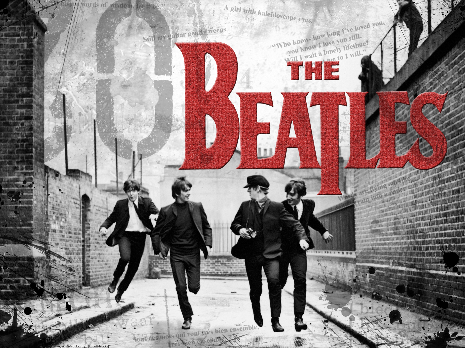 The Beatles wallpapers widescreen