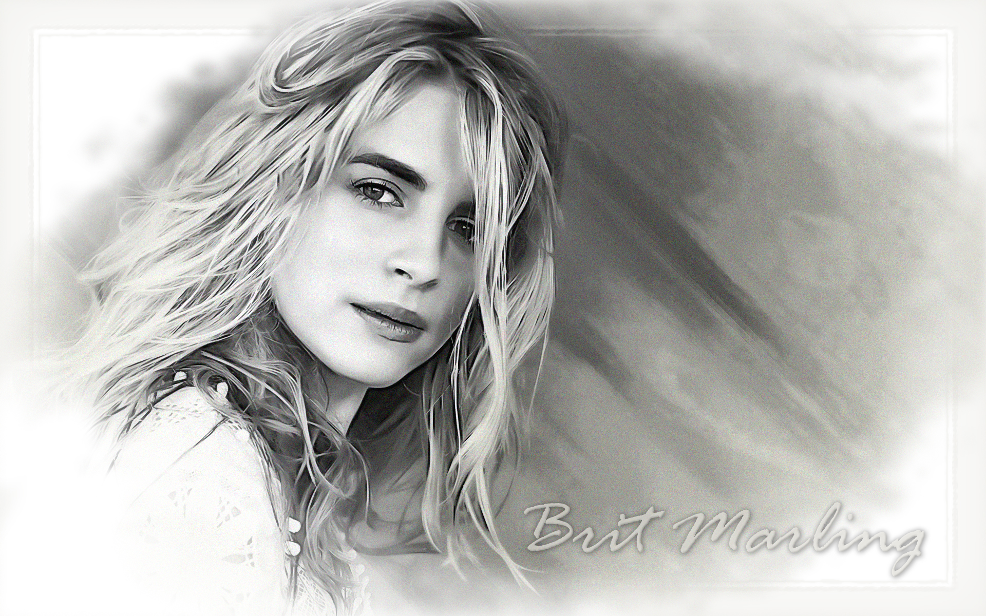 Brit Marling wallpapers widescreen