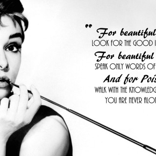 Audrey Hepburn wallpapers widescreen