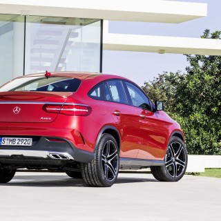 Mercedes-Benz GLE Coupe pictures