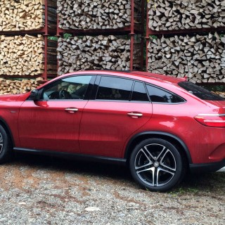 Mercedes-Benz GLE Coupe pics