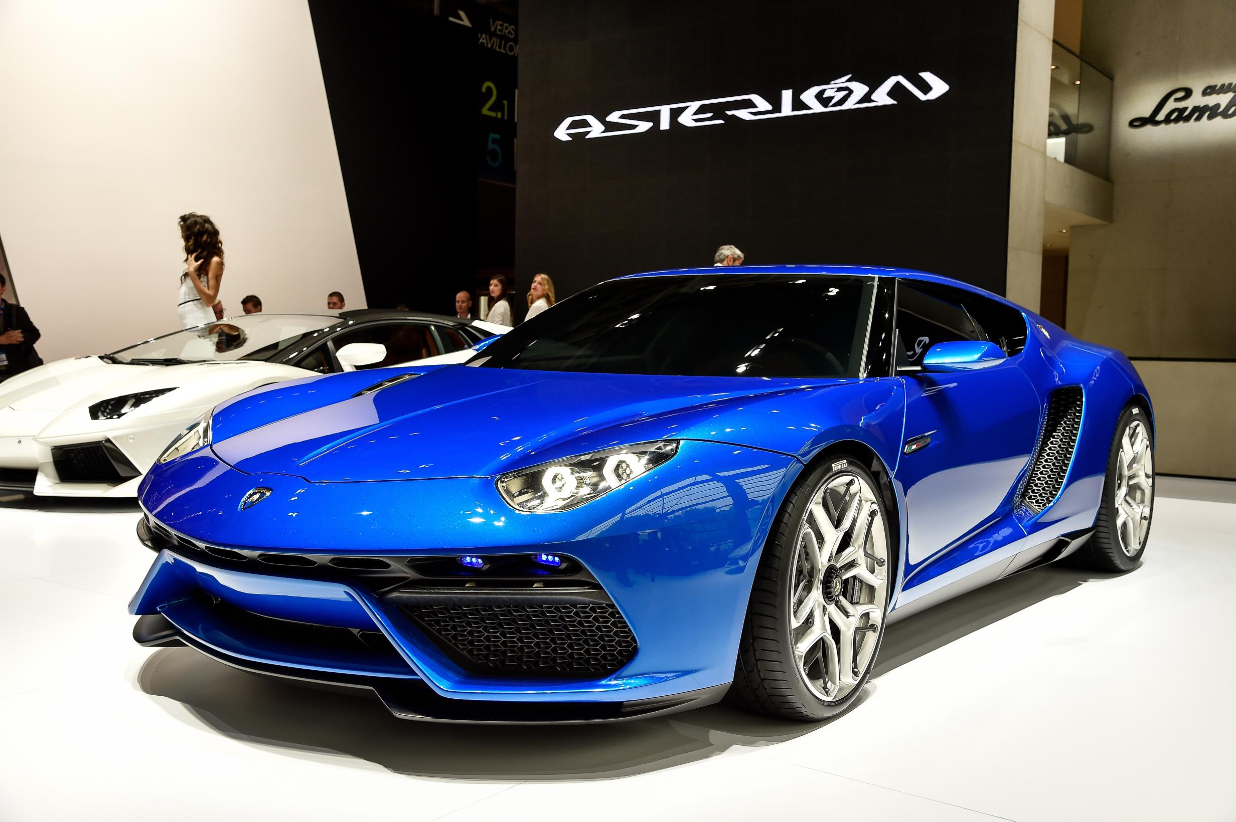 Lamborghini Asterion LPI 910-4 HD Wallpapers
