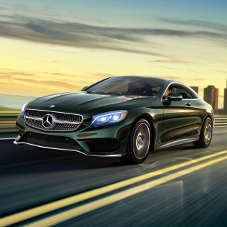Mercedes S-Class Coupe wallpapers desktop