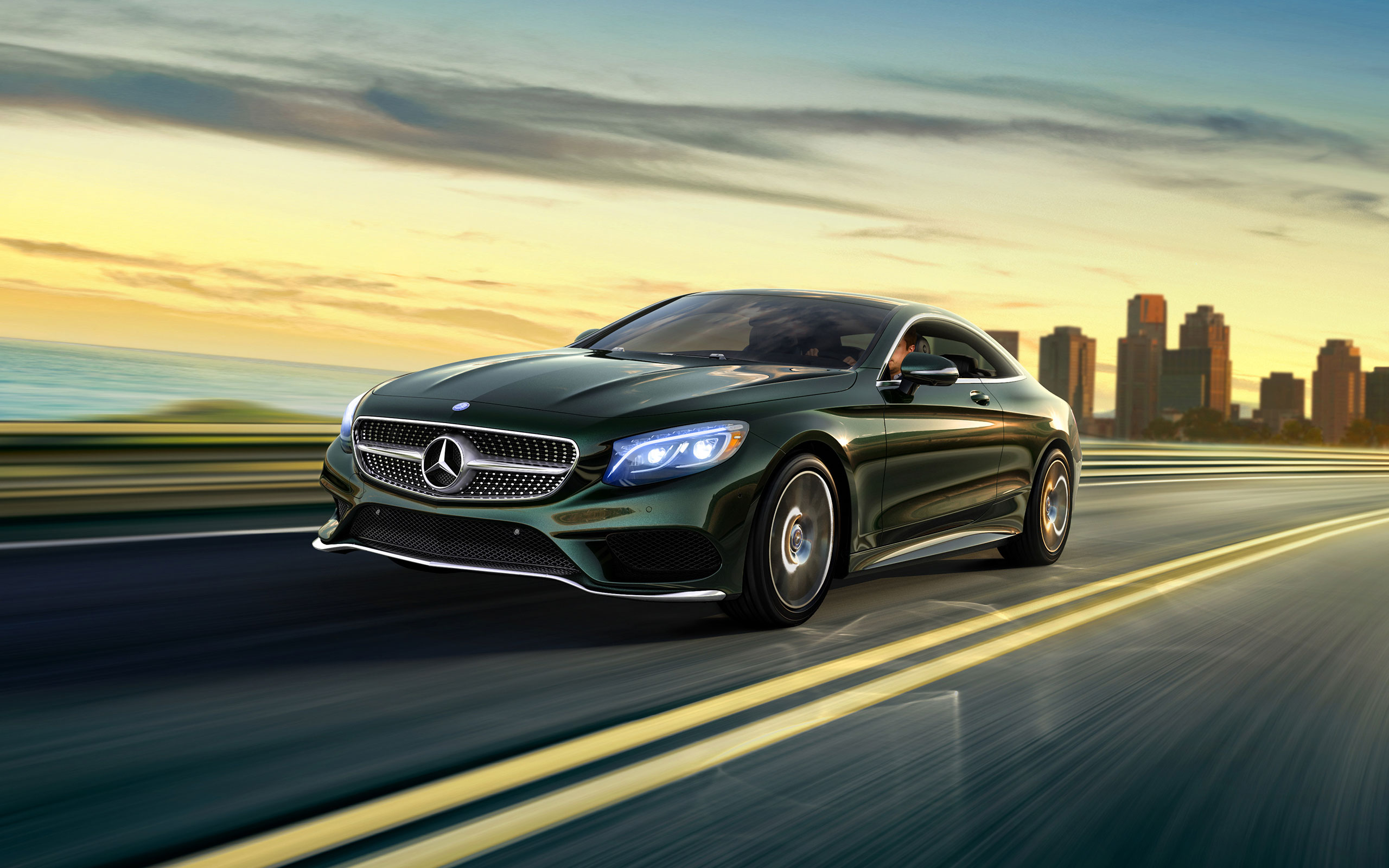 Mercedes S Class Coupe Hd Wallpapers For Desktop Download