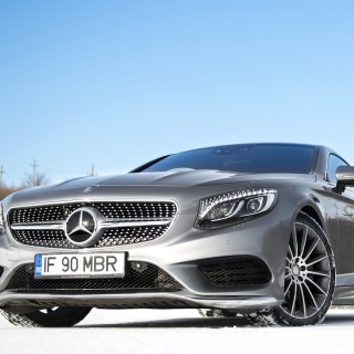 Mercedes S-Class Coupe pictures
