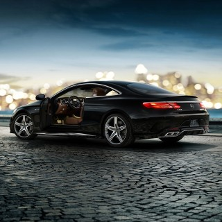 Mercedes S-Class Coupe photos