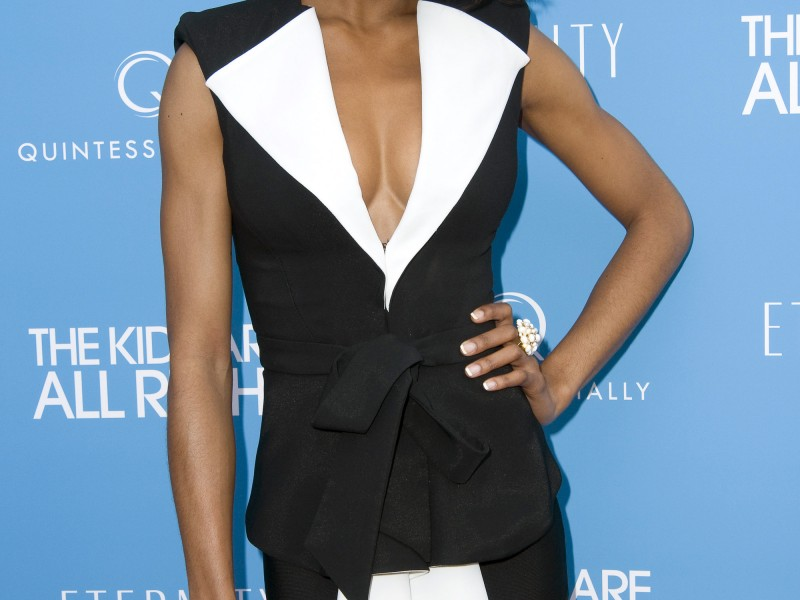Yaya DaCosta New York premiere of the 'Kids Are All Right' at Landmark's Sunshine Cinema  Featuring: Yaya DaCosta Where: New York City, United States When: 30 Jun 2010 Credit: WENN