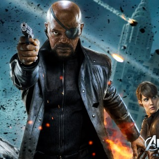 Nick Fury high resolution wallpapers