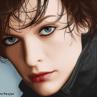 Milla Jovovich free wallpapers