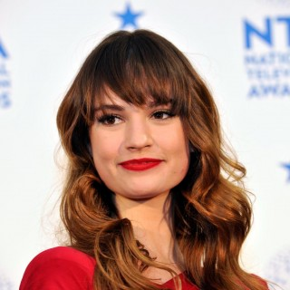 Lily James download wallpapers