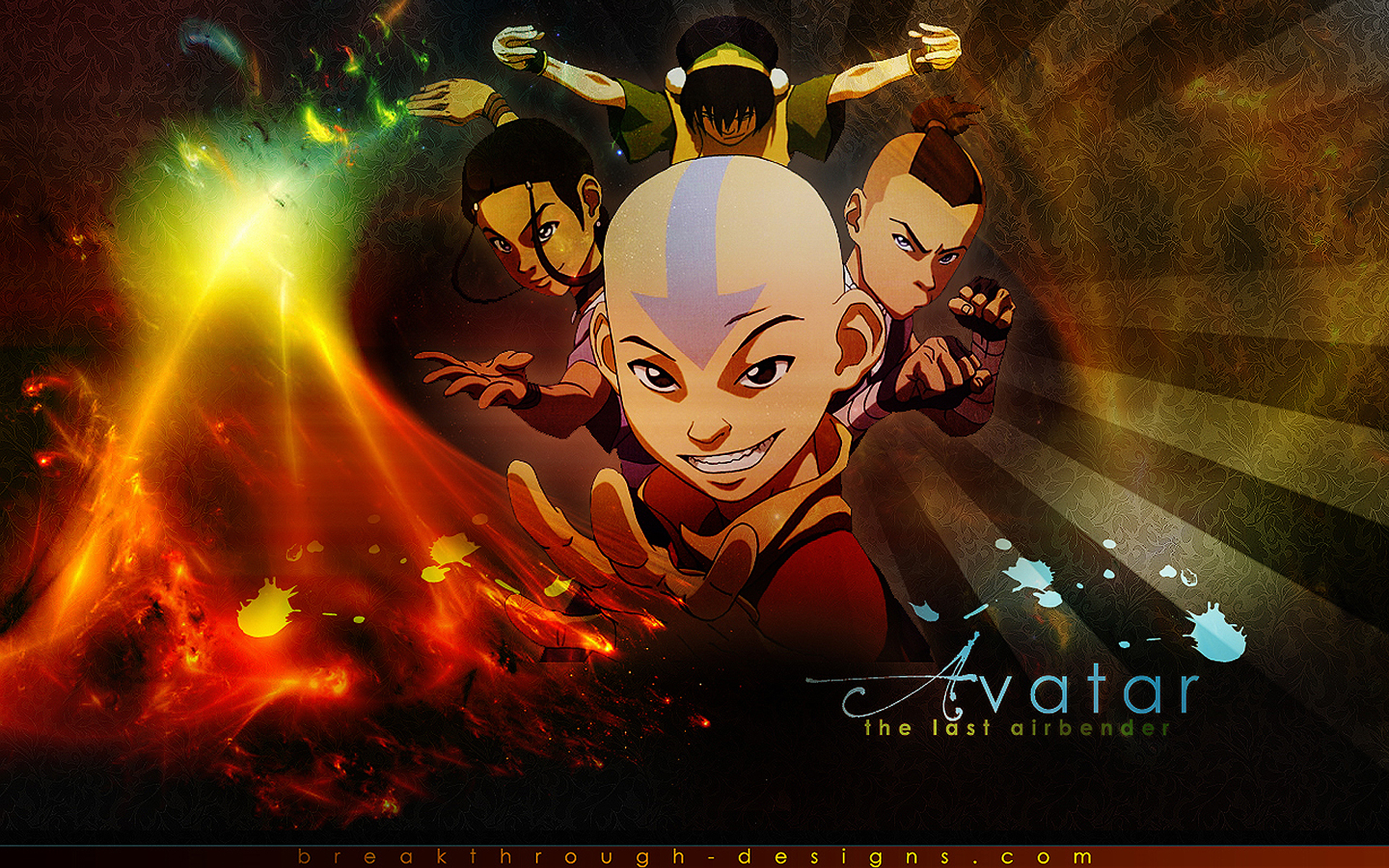 Avatar The Last Airbender Hd Wallpapers For Desktop Download