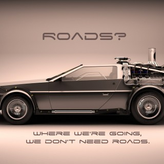 Back To The Future background