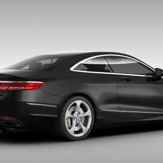 Mercedes S-Class Coupe hd