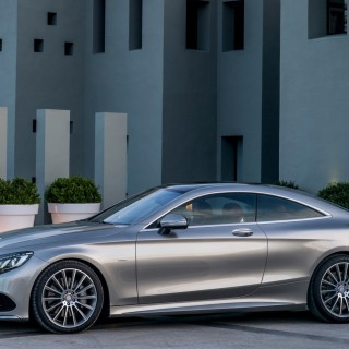 Mercedes S-Class Coupe new